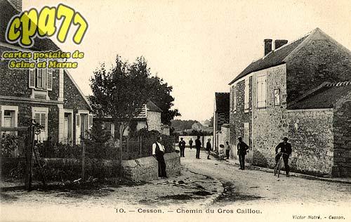 Cesson - Chemin du Gros Caillou