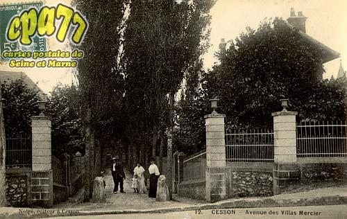 Cesson - Avenue des Villas Mercier