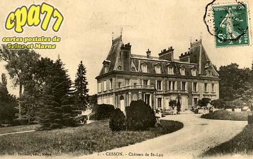 Cesson - Château de St-Leu