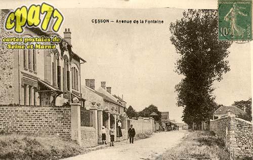 Cesson - Avenue de la Fontaine