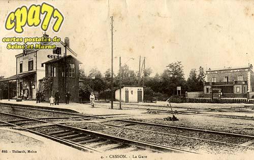 Cesson - La Gare