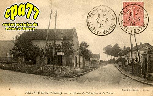 Cesson - Verneau - Les Routes de Saint-Leu et de Cesson