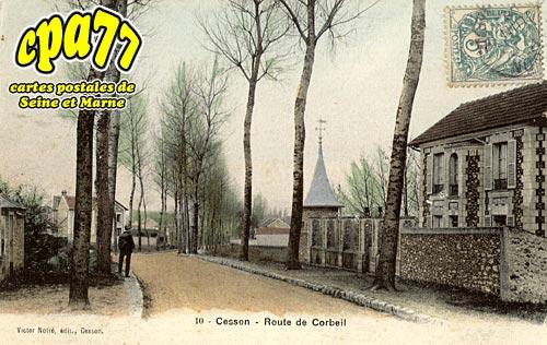 Cesson - Route de Corbeil