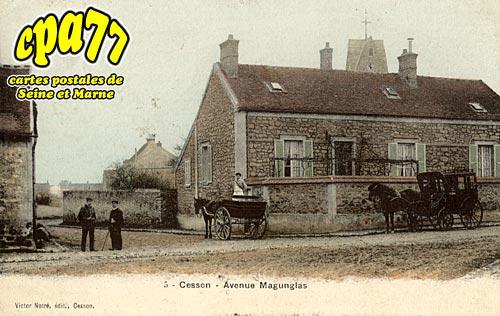 Cesson - Avenue Magunglas