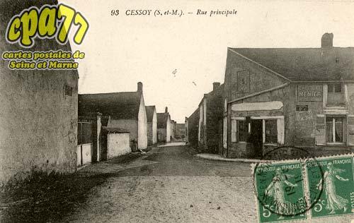 Cessoy En Montois - Rue principale