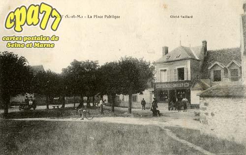 Cessoy En Montois - La Place Publique