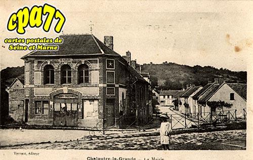 Chalautre La Grande - La Mairie