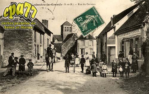 Chalautre La Grande - Rue du Corneau