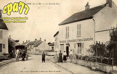 Chalautre La Petite - Aubepierre (S.-et-M.) - La Grande Rue