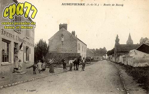 Chalautre La Petite - Aubepierre (S.-et-M.) - Route de Rosoy