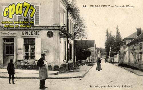 Chalifert - Route de Chessy