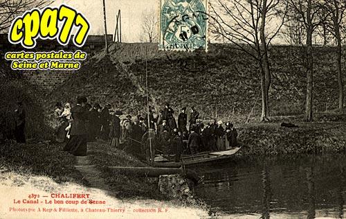 Chalifert - Le Canal - Le bon coup de Senne