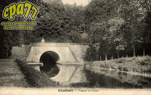Chalifert - Tunnel et Canal
