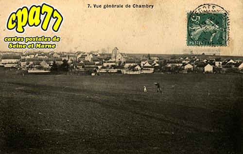 Chambry - Vue Générale