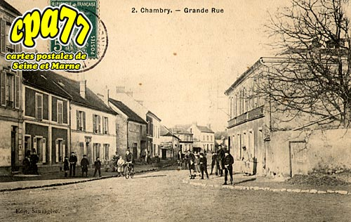 Chambry - Grande Rue