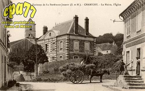 Carte Postale Ancienne De Chamigny 77 Environs De La