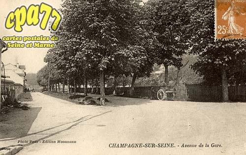 Champagne Sur Seine - Avenue de la Gare
