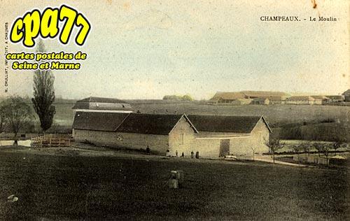 Champeaux - Le Moulin