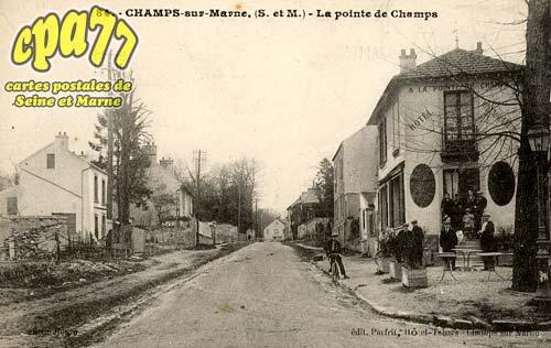 Champs Sur Marne - La Pointe du Champs