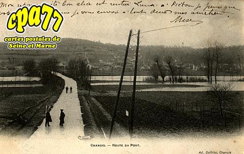 Changis Sur Marne - Route du Pont
