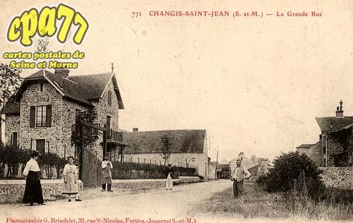 Changis Sur Marne - La Grande Rue