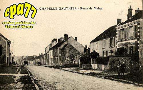 La Chapelle Gauthier - Route de Melun