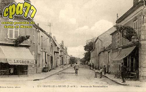 La Chapelle La Reine - Avenue de Fontainebleau