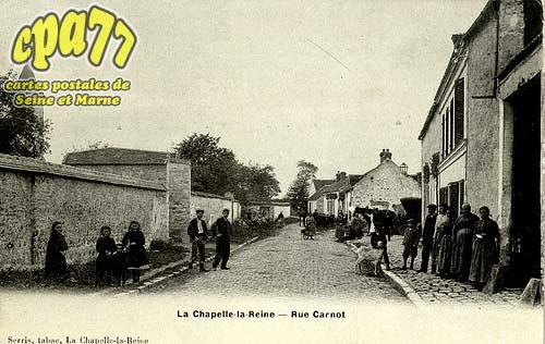 La Chapelle La Reine - Rue Carnot