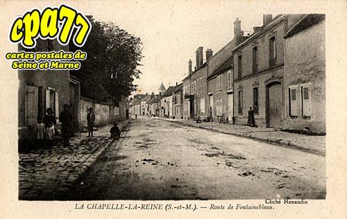 La Chapelle La Reine - Route de Fontainebleau