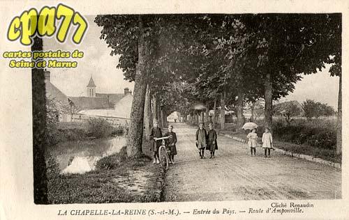 La Chapelle La Reine - Entrée du Pays - Route d'Amponville