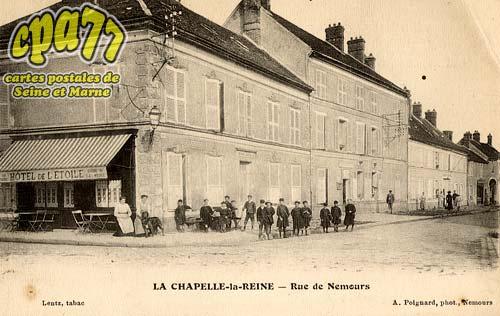 La Chapelle La Reine - Rue de Nemours