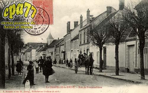 La Chapelle La Reine - Rue de Fontainebleau