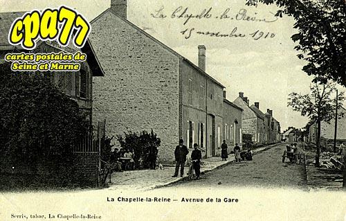 La Chapelle La Reine - Avenue de la Gare