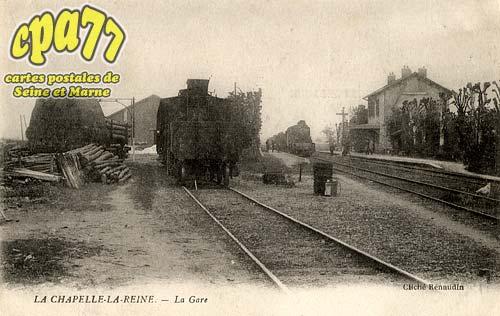 La Chapelle La Reine - La Gare