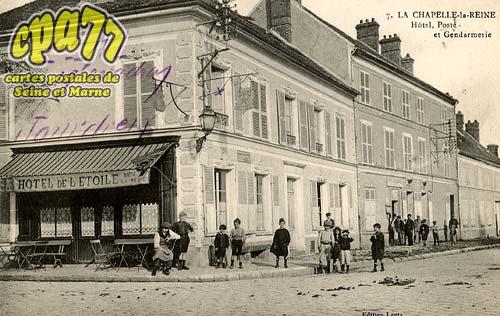La Chapelle La Reine - Hôtel, Poste et Gendarmerie