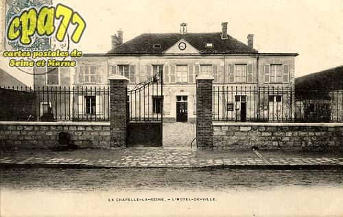 La Chapelle La Reine - L'Hôtel-de-Ville
