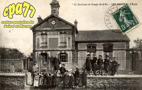 La Chapelle Rablais - Environs de Nangis - L'Ecole