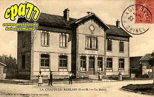 La Chapelle Rablais - La Mairie