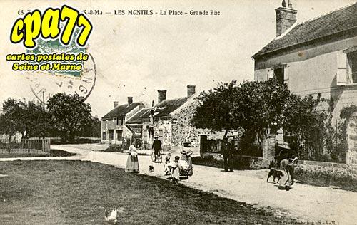 La Chapelle Rablais - Les Montils - La Place - Grande Rue