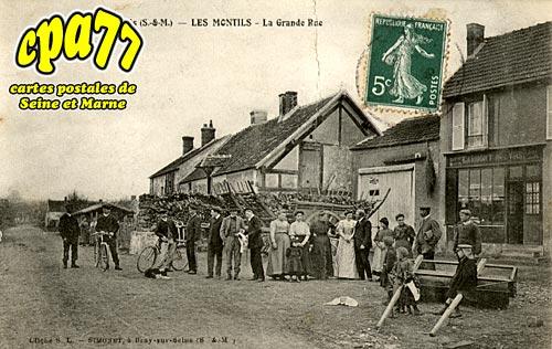 La Chapelle Rablais - Les Montils - La Grande Rue