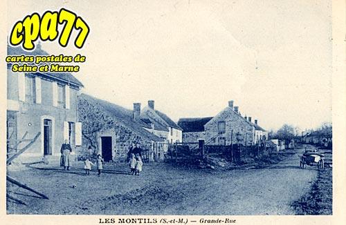La Chapelle Rablais - Les Montils - Grande Rue