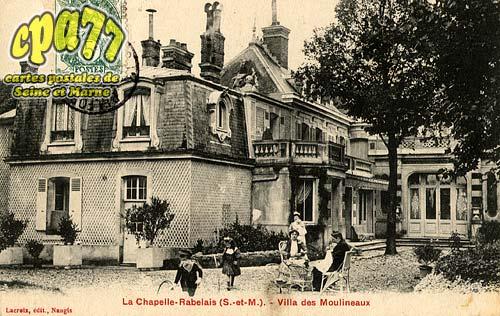 La Chapelle Rablais - Villa des Moulineaux
