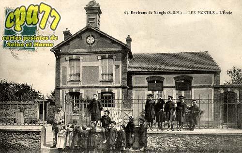 La Chapelle Rablais - Environs de Nangis (S.-et-M.) Les Montils - L'Ecole