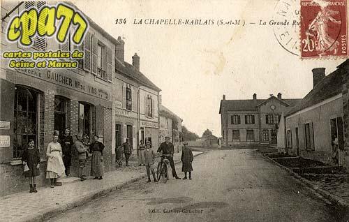 La Chapelle Rablais - La Grande Rue