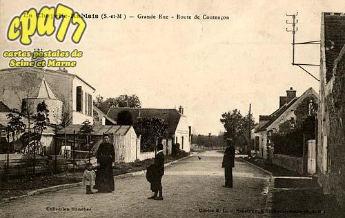 La Chapelle Rablais - Grande Rue - Route de Coutençon