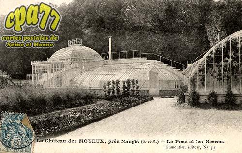 La Chapelle Rablais - Le Château des Moyeux, près Nangis (S.-et-M.) - Le Par cet les Serres