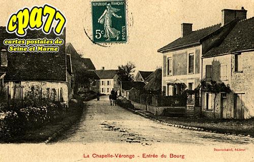 La Chapelle Moutils - Entrée du Bourg