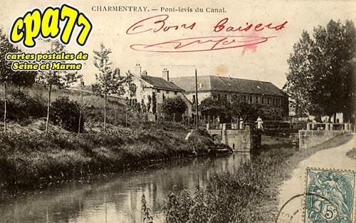 Charmentray - Pont-Levis du Canal