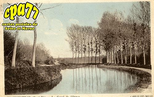 Charmentray - Le Canal de l'Ourcq