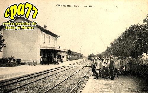 Chartrettes - La Gare